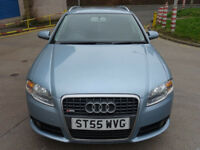 2006 55 AUDI A4,2.0 TDI S LINE 5d 140 BHP**TIMING BELT AND WATER PUMP CHANGED**SERVICE RECORDS**