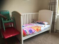 Mamas and Papas classic cot bed