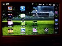 """Pink 7"""" android netbook in working order"""
