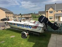 Driver 510 Speedboat with Mercury 90hp outboard