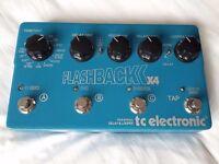 TC electronics flashback delay x4 delay looper