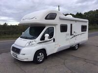 2008 SWIFT SUNDANCE 630L, 31000 MILES, END LOUNGE, 6 BERTH, 6 BELT, FSH, SATELITE, AWNING WITH SIDES