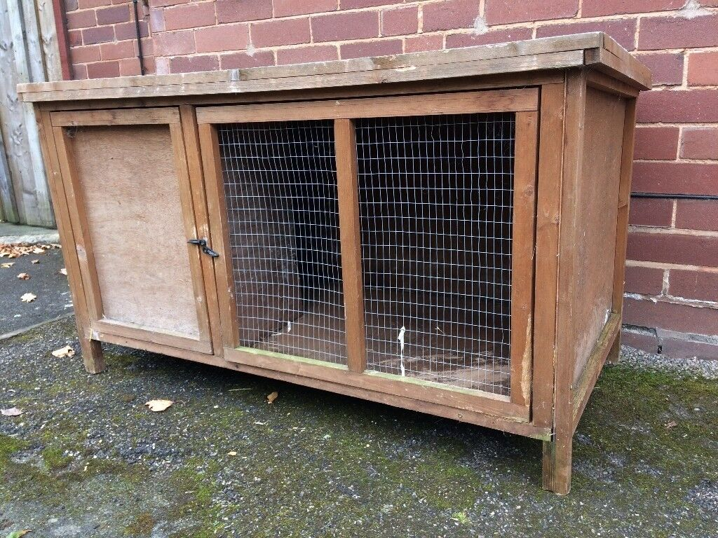 @LARGE RABBIT/ANIMAL HUTCH@