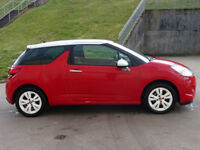 2010 CITROEN DS3 1.6 DSTYLE 3d 120 BHP + CRUISE CONTROL + SERVICE RECORD +