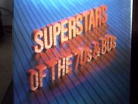 Boxed set of vinyl..Superstars of the 70s & 80s.. 8 record set....Readers Digest..