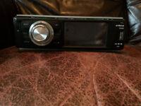 Xtrons digital touch screen car stereo