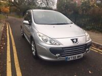 2007 PEUGEOT 307 1.6 S 16V,AUTO,12MONTHS MOT,LOW MILES,FULL SERVICE HISTORY,AIR CON,ALLOYS,HPI CLR