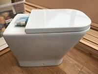 Brand New Roca The Gap Back-to-Wall Toilet, 540mm Projection, Standard Seat RPP £170
