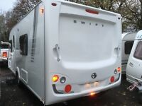 ☆ 2009/10 SWIFT COASTLINE 550SE ☆ 4 5 BERTH TOURING CARAVAN ☆ FIXED BED ☆FULLY SERVICED ☆IMMACULATE☆