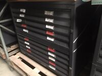 A0 & A1 BISLEY STORAGE PLAN CHESTS ARCHITECTS & SURVEYORS