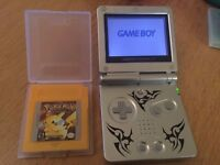 Pokemon Yellow Version Gameboy Colour GBA GBC