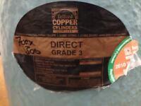 Telford copper cylinder 700 x 300