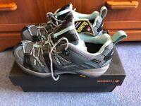 Brand new in box Women's Merrill Siren Sport walking shoes. Size 4 medium width