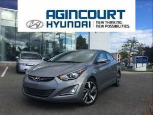 2015 Hyundai Elantra Limited/NAVI/LEATHER/SUNROOF/OFF LEASE