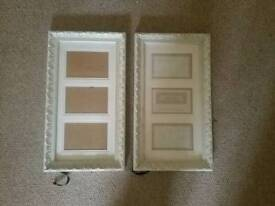 Shabby Chic Ivory Vintage Style Picture Frames