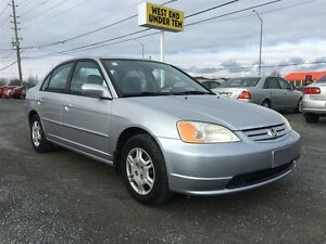 2001 Honda Civic Sedan LX-G at Kingston Kingston Area image 1