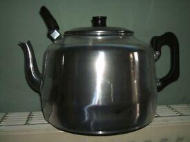Tea Pot Aluminium Catering 8 Pint size