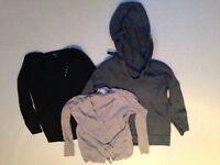 Three maternity sweaters/ cardigan. All size 14
