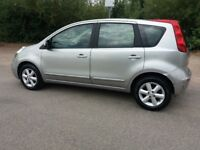 NISSAN NOTE 1.4 ACENTA (Silver) Clean very good drive. Small dent on fifth door.. see pick