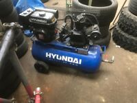 Hyundai petrol compressor