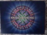 WHO WANTS TO BE A MILLIONAIRE BOARD GAME - VINTAGE