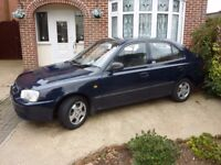 Hyundai Accent 1.3 - clutch slipping, otherwise excellent