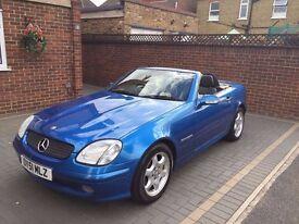 Mercedes Benz SLK - 2.3 SLK230 Kompressor 2dr - Blue