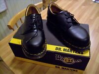 Dr Martens AirWair Steel Toed Shoes, Unisex NEW