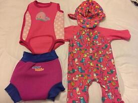 Girls 3-6 month swim wear