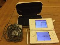 Nintendo DS Lite and 11 games