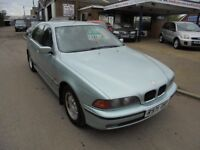 1998 R bmw 520i 2.0 se automatic, 12 months mot. 30 + cars in stock.
