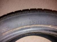 One used Dunlop Sportmaxx tyre, 235/45 R17, £5