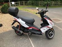 Lexmoto 125 FMR, ONE OWNER FROM NEW