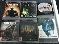 6X PS3 GAMES