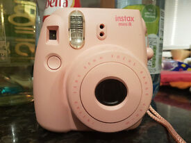 Fujifilm Instax Mini 8 Instant Camera with 10 Shots - Pink