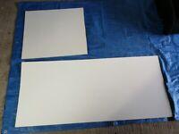 FREE - White backed hardboard offcuts
