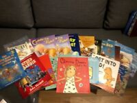 Selection of 18 childrens books