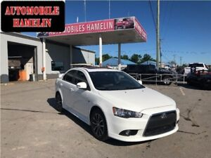 2015 Mitsubishi Lancer GT limited edition cuir toit mags paddle