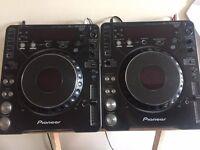 Pioneer CDJ 1000 Mk2 Pair