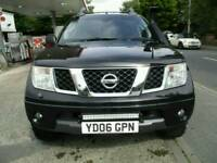 2006 Nissan Navara 2.5dCi Black Manual 111000 Miles