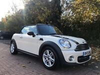 BMW MINI COOPER 2013 CONVERTIBLE - PERFECT EXAMPLE WITH LOTS OF EXTRAS (ONE OFF SPEC!!!)