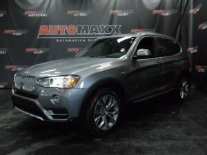 2017 BMW X3 xDrive28i Premium Loaded!!