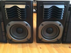 PANASONIC STEREO SPEAKERS, CRYSTAL CLEAR SOUND, FULLY WORKING, EXCELLENT CONDITION.