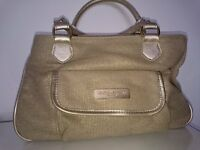 Handbag Giorgio Armani, new condition as it is unused. Beautiful Gold/Beige colour.