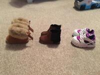 Size 3 UK Infant shoe bundle £35