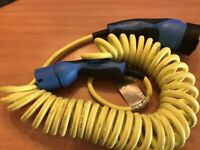 Genuine Mennekes Type 2 Coiled Portable Charging Cable A0005832198 for MERCEDES and others