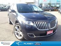 2014 Lincoln MKX LUXURY LEATHER ROOF NAV ADAPTIVE CRUISE 22 WHEE