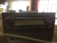 Fiat Grande Punto CD player