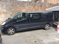Vauxhall Vivaro Camper Van 2900 Sportive CDTi LWB Black Very Low Mileage