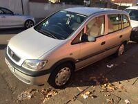 Vauxhall Zafira 2004 Low mileage 7 seater